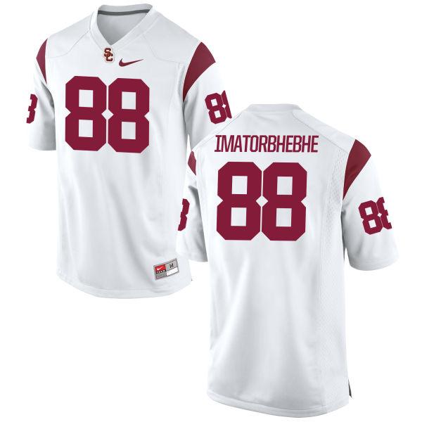 Men's Nike Daniel Imatorbhebhe USC Trojans Replica White Football Jersey