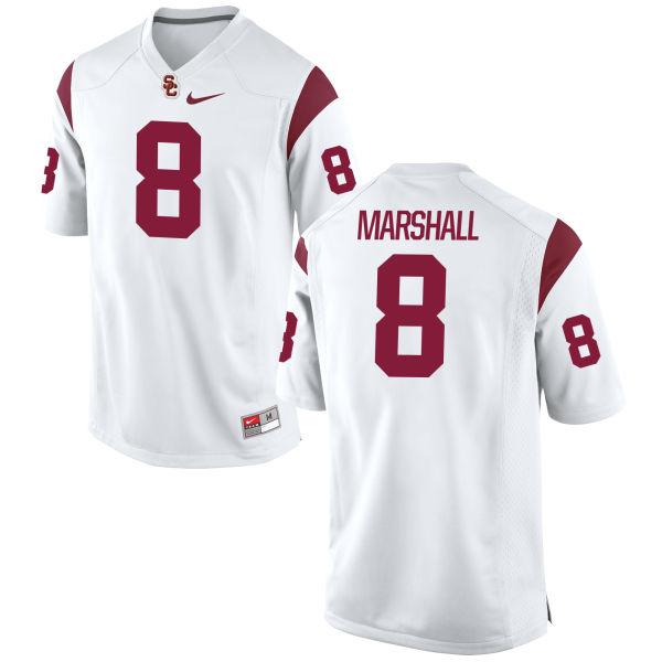 Men's Nike Iman Marshall USC Trojans Limited White Football Jersey