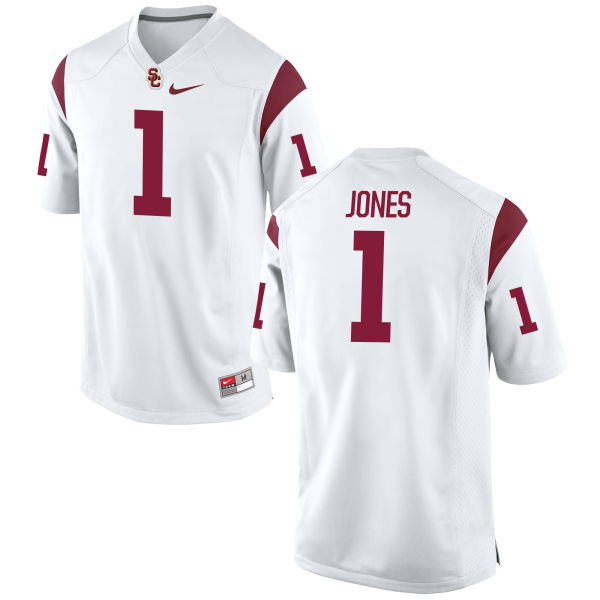 Men's Nike Jack Jones USC Trojans Game White Football Jersey