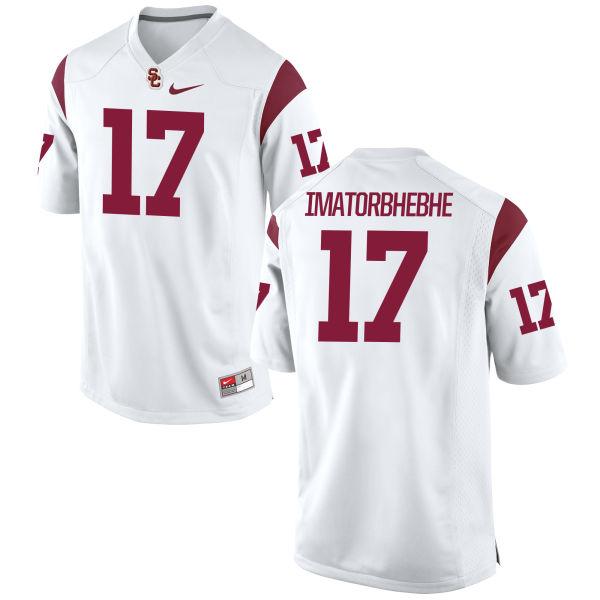 Women's Nike Josh Imatorbhebhe USC Trojans Replica White Football Jersey