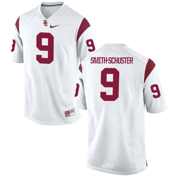 Women's Nike JuJu Smith-Schuster USC Trojans Replica White Football Jersey