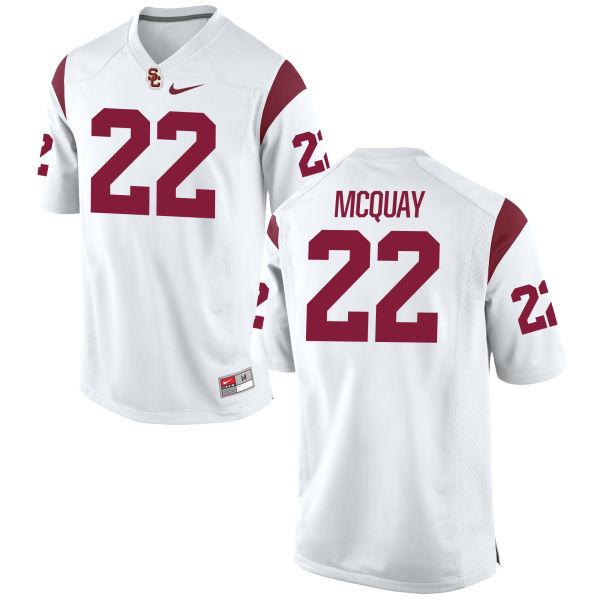 Women's Nike Leon McQuay III USC Trojans Replica White Football Jersey