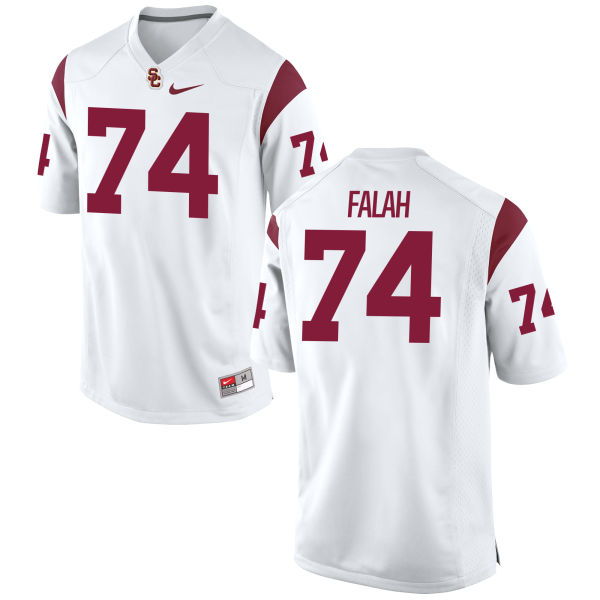 Youth Nike Nico Falah USC Trojans Authentic White Football Jersey