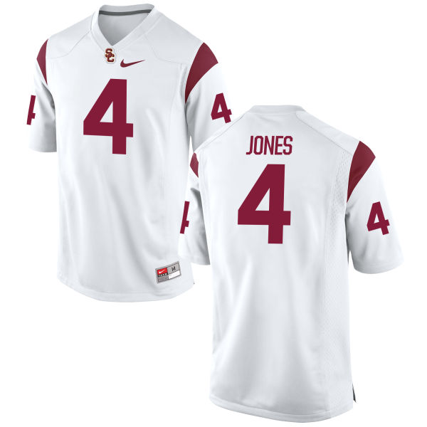 Men's Nike Ronald Jones II USC Trojans Game White Football Jersey